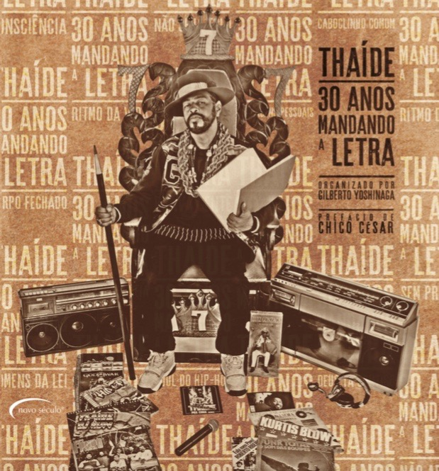 "Capa da primeira parte de ""Thaíde, 30 anos mandando a letra""; a segunda deve sair em novembro"