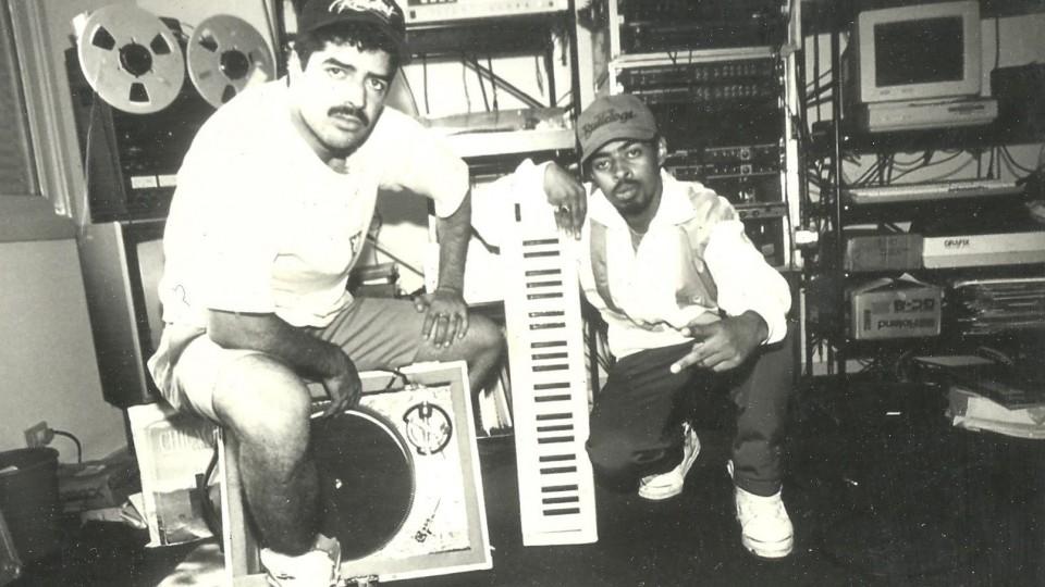 Os ainda bem jovens Thaíde e DJ Hum