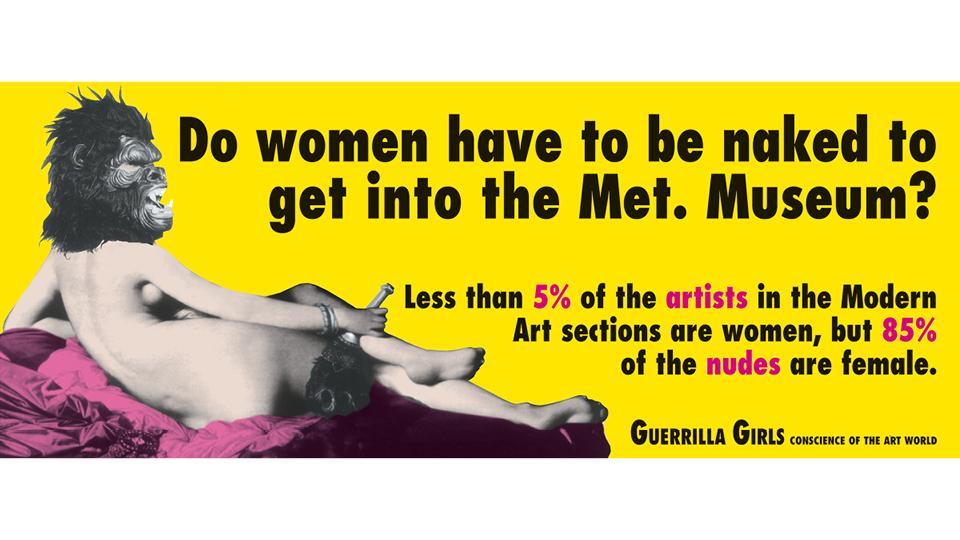 O primeiro cartaz da série As Mulheres Precisam Estar Nuas?, de 1989