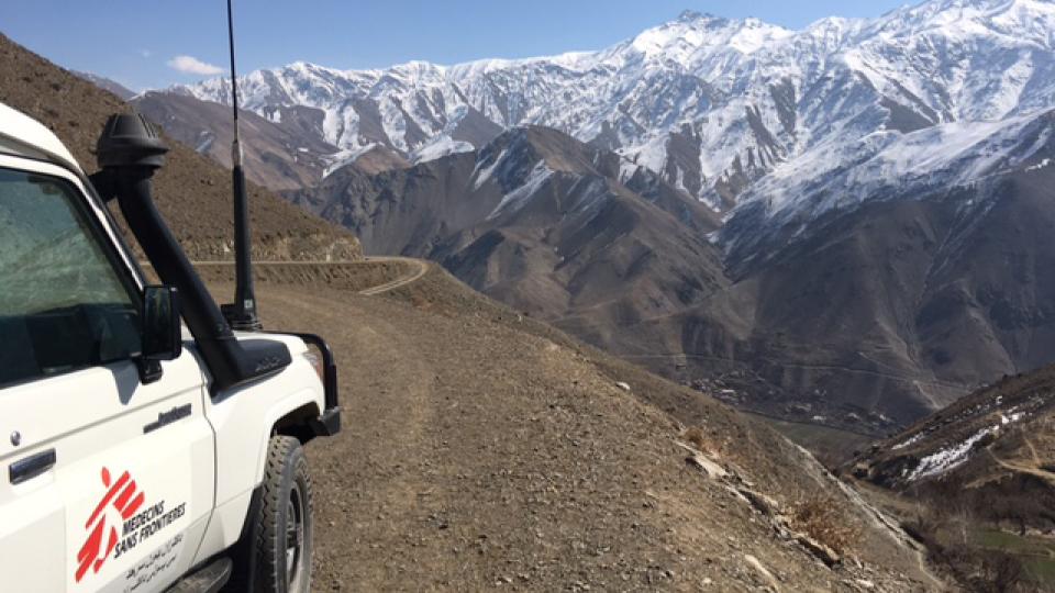Vale Panjshir, no Afeganistão, em fevereiro de 2016