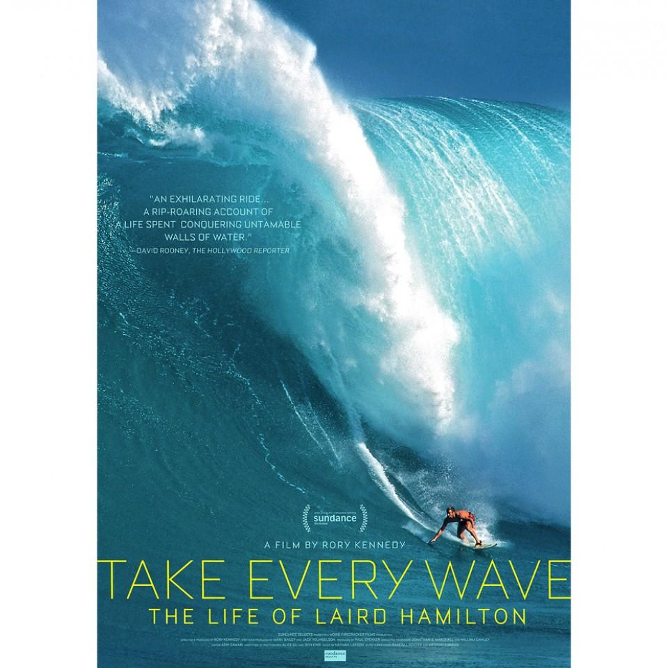 Cartaz de documentário sobre o lendário surfista Laird Hamilton