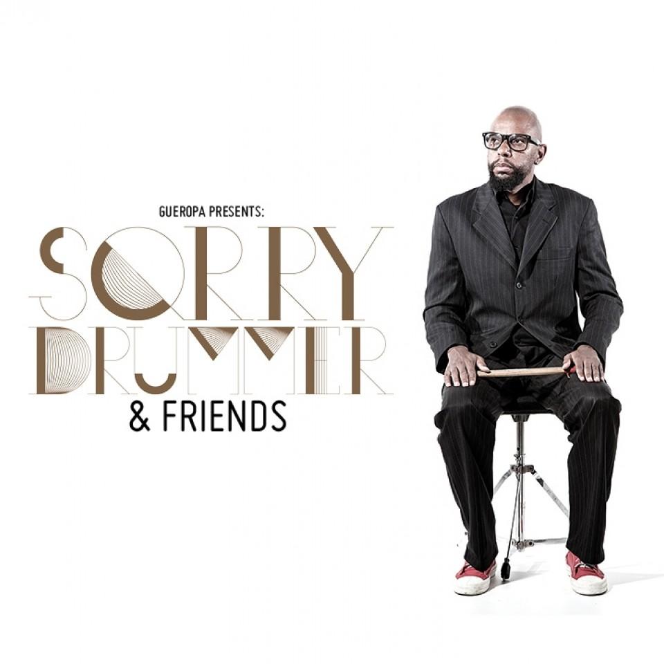 Capa do disco Sorry Drummer & Friends Vol. 1, lançado em 2011, no Brasil e no Japão