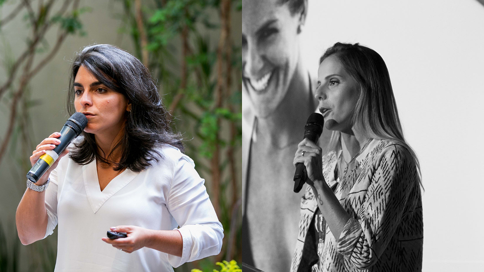 Nicole Mandil (Neutrox) e Karol Lopes (roxy)