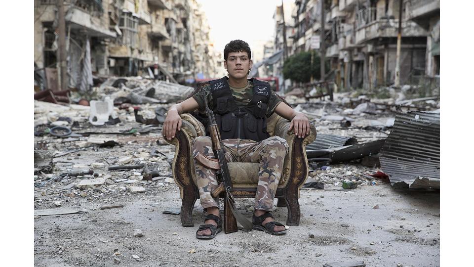 Foto da série 'Manifesto Inequívoco', clicada em Aleppo por Gabriel Chaim