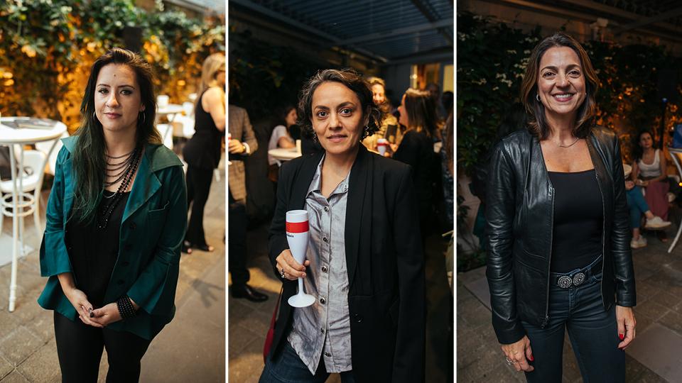 Estrela Leminsky, Joana Mendes da Rocha e Paula Bellizia
