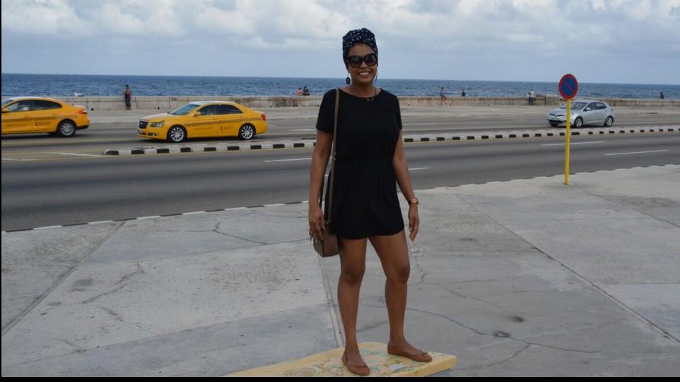 Paula Augot, do blog No Mundo da Paula, se sentiu bem realmente em Cuba, onde conseguiu se ver de alguma forma como local