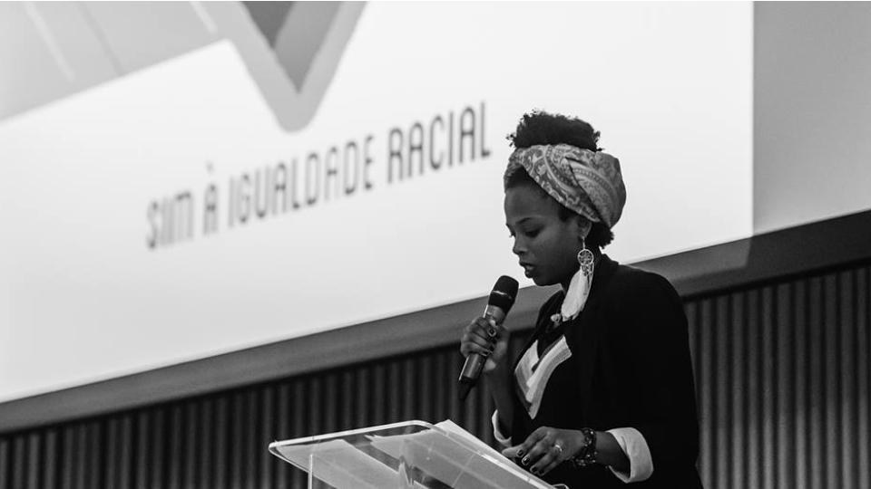 Luana Génot no II Fórum Sim à Igualdade Racial, em São Paulo