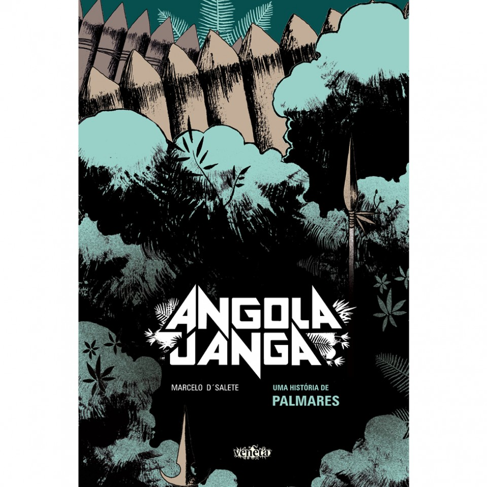 Capa da graphic novel Angola Janga, de Marcelo D'Salete