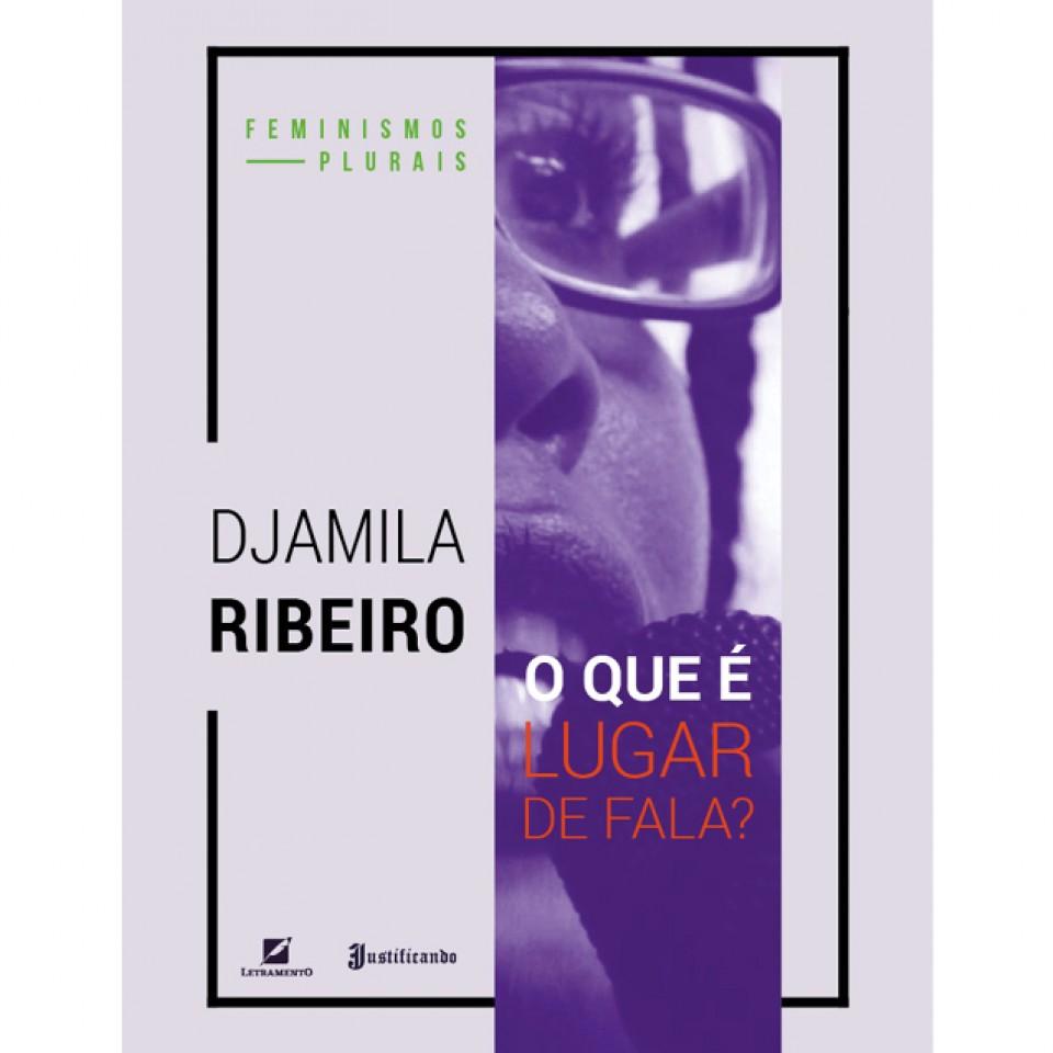 """O livro """"O que é lugar de fala?"""", de Djamila Ribeiro"""