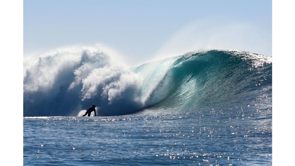 Surf em um pico secreto na Austrália, em 2010