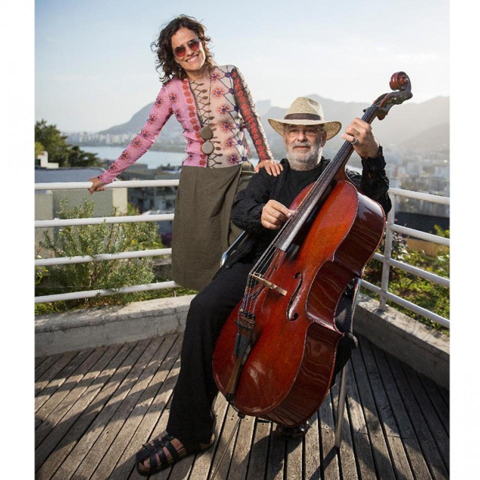 """Zélia Duncan e Jaques Morelenbaum, parceiros no projeto """"Invento +"""", em que homenageiam Milton Nascimento"""