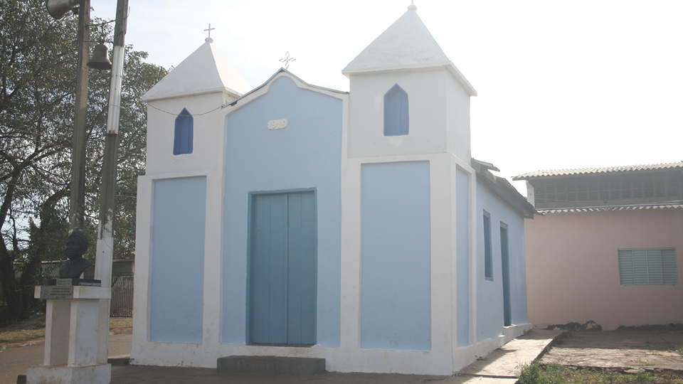 Comunidade Tia Eva, na Vila São Benedito, no Mato Grosso do Sul