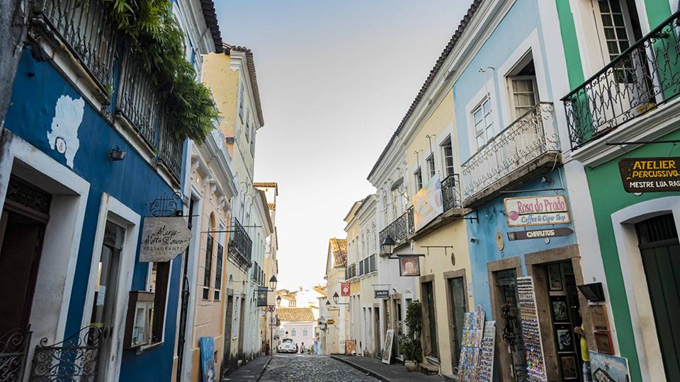Pelourinho, na Bahia