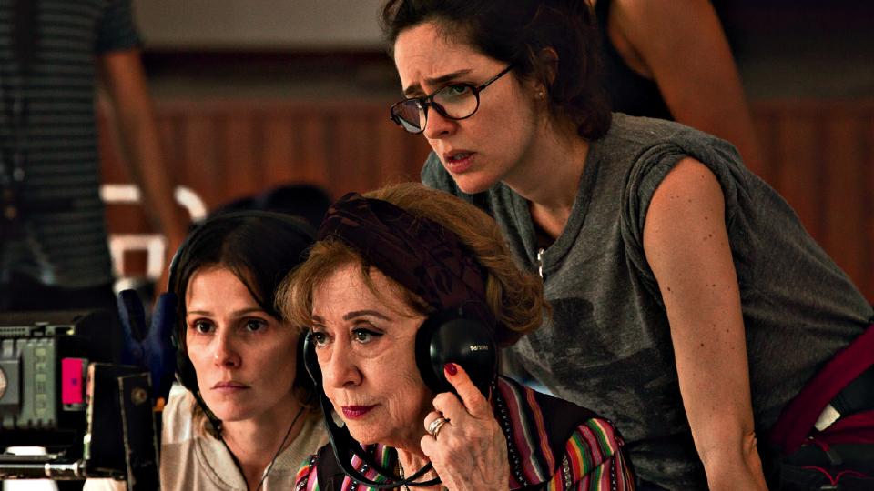 Dirigindo Deborah Secco e Fernanda Montenegro em Boa Sorte