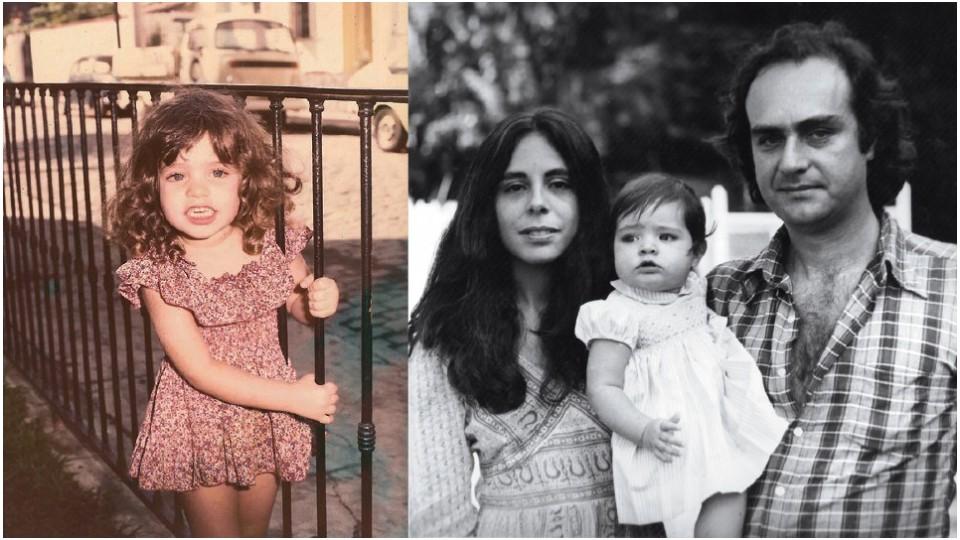 Durante a infância no Rio de Janeiro e, ainda bebê, entre os pais, o cineasta Arnaldo Jabor e a psicanalista Eleonora Barbosa Mello