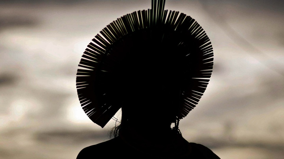 Indígena em São Félix do Xingu, no Pará