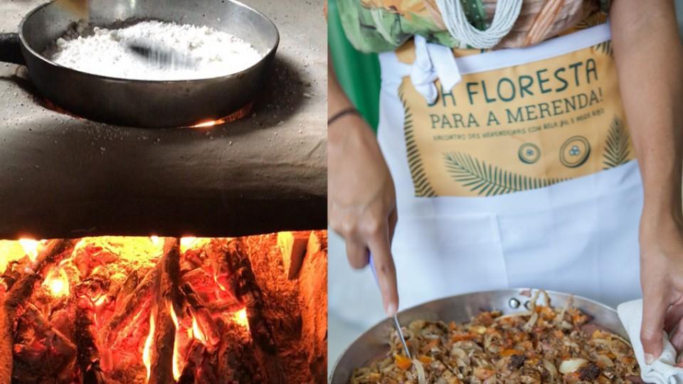 Tapioca com castanha fresca ralada; Bela Gil prepara torta mole de sardinha