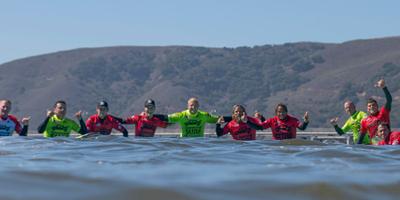 Surf para superar traumas de guerra