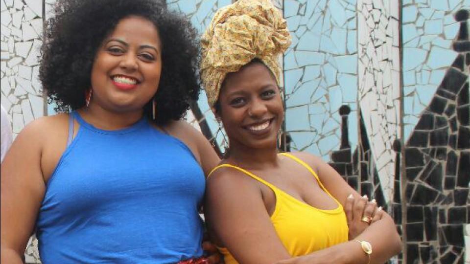 Laura Augusta Almeida e Tainã Vieira criaram a Rede Dandaras, um espaço de promoção de saúde para mulheres negras em Salvador