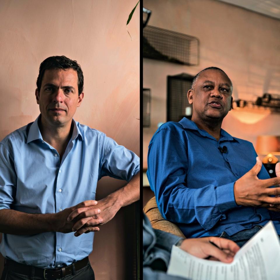Nenhum dos dois planeja se candidatar, mas apresentam ideias para um avanço político para esta e para futuras eleições no Brasil