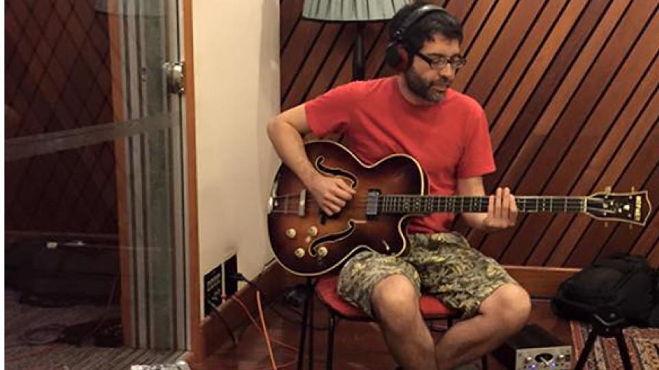 O baixista Maurício Fleury