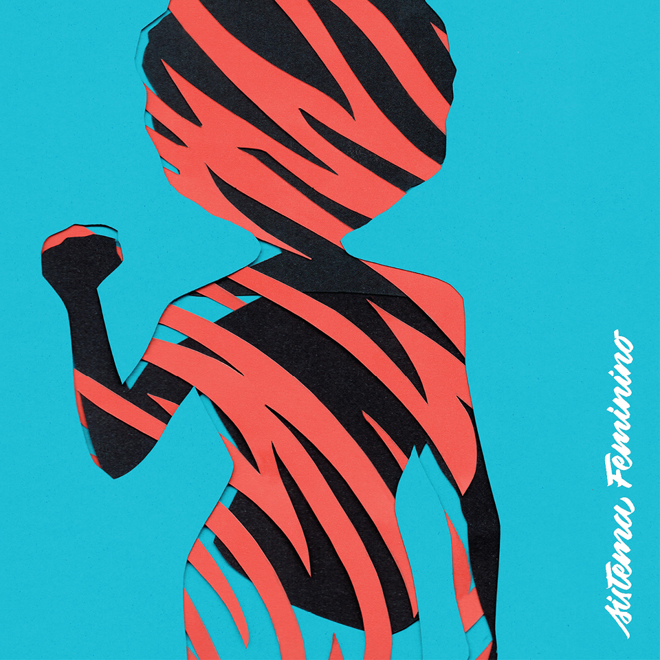 Capa do primeiro disco do Melanina MCs, Sistema feminino