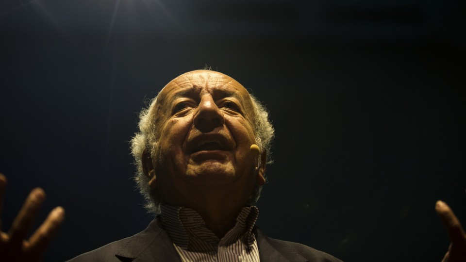O filósofo e educador colombiano Bernardo Toro