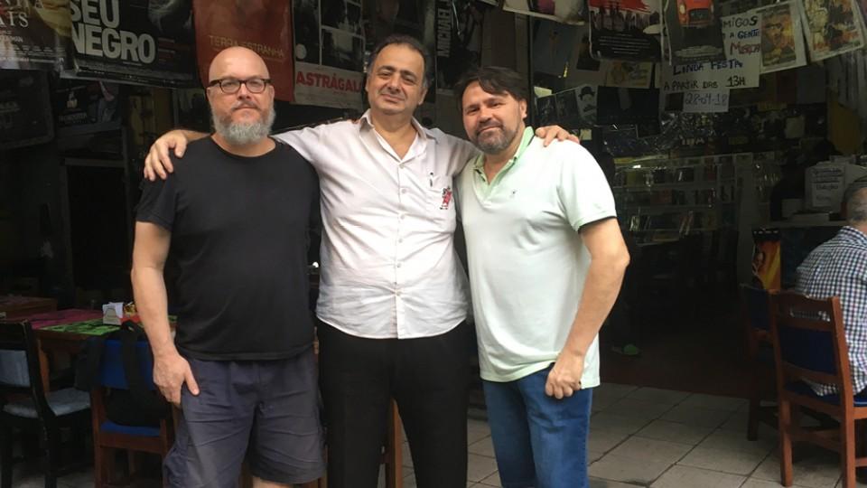 Pedro, Joca Reiners Terron e Marcelino Freire