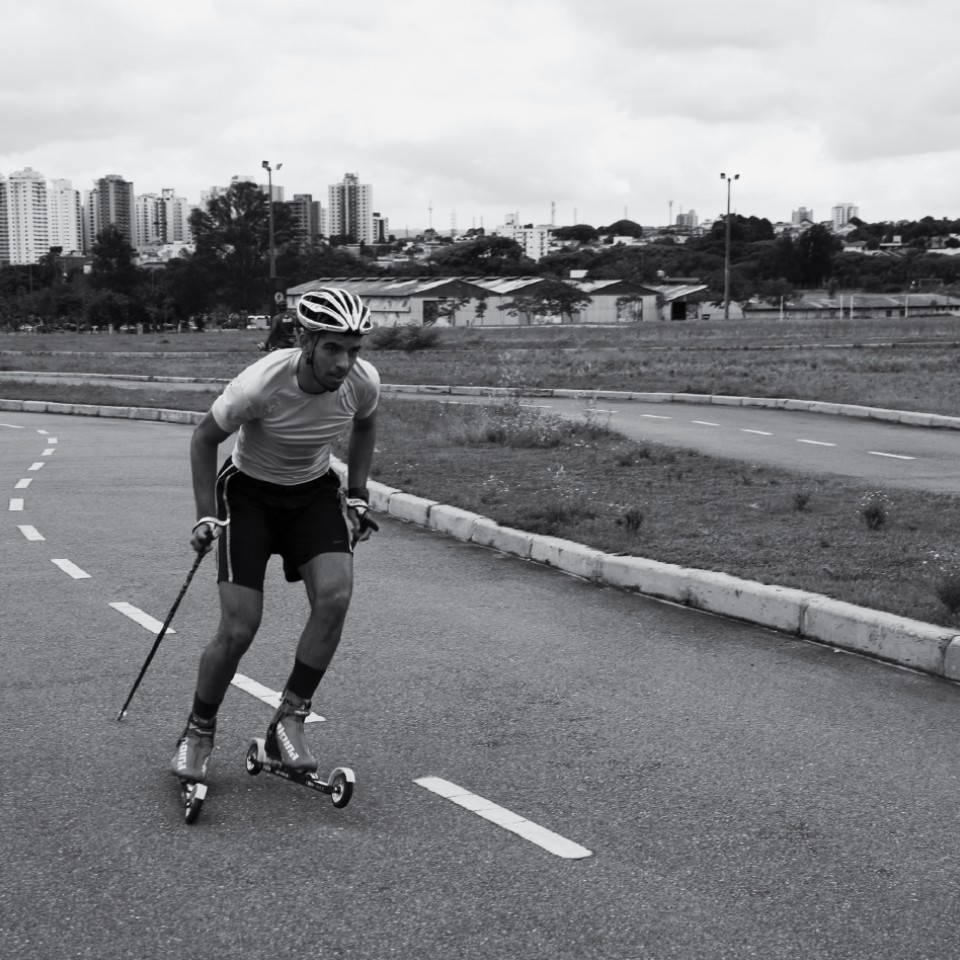 Victor Santos aprendeu a esquiar no asfalto e chegou aos Jogos Olímpicos de Inverno, em 2018