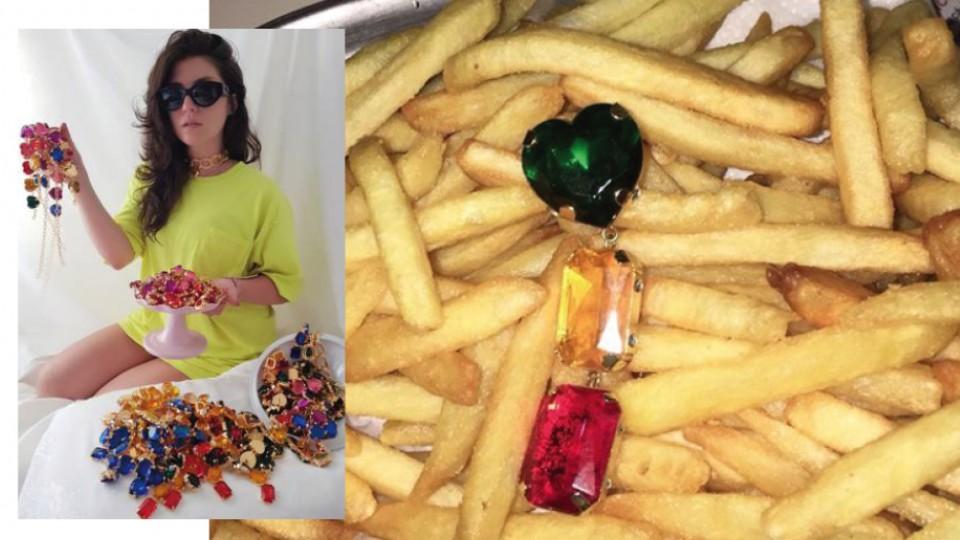 A estilista Lívia Torres e seus pakeras
