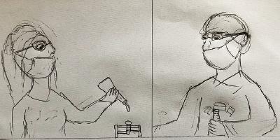 Desenhe um cientista