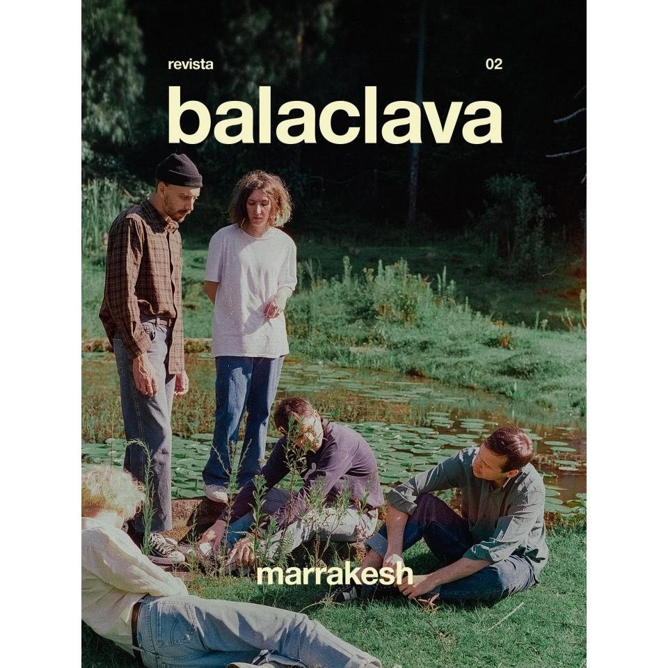 Capa da segunda edição da revista Balaclava