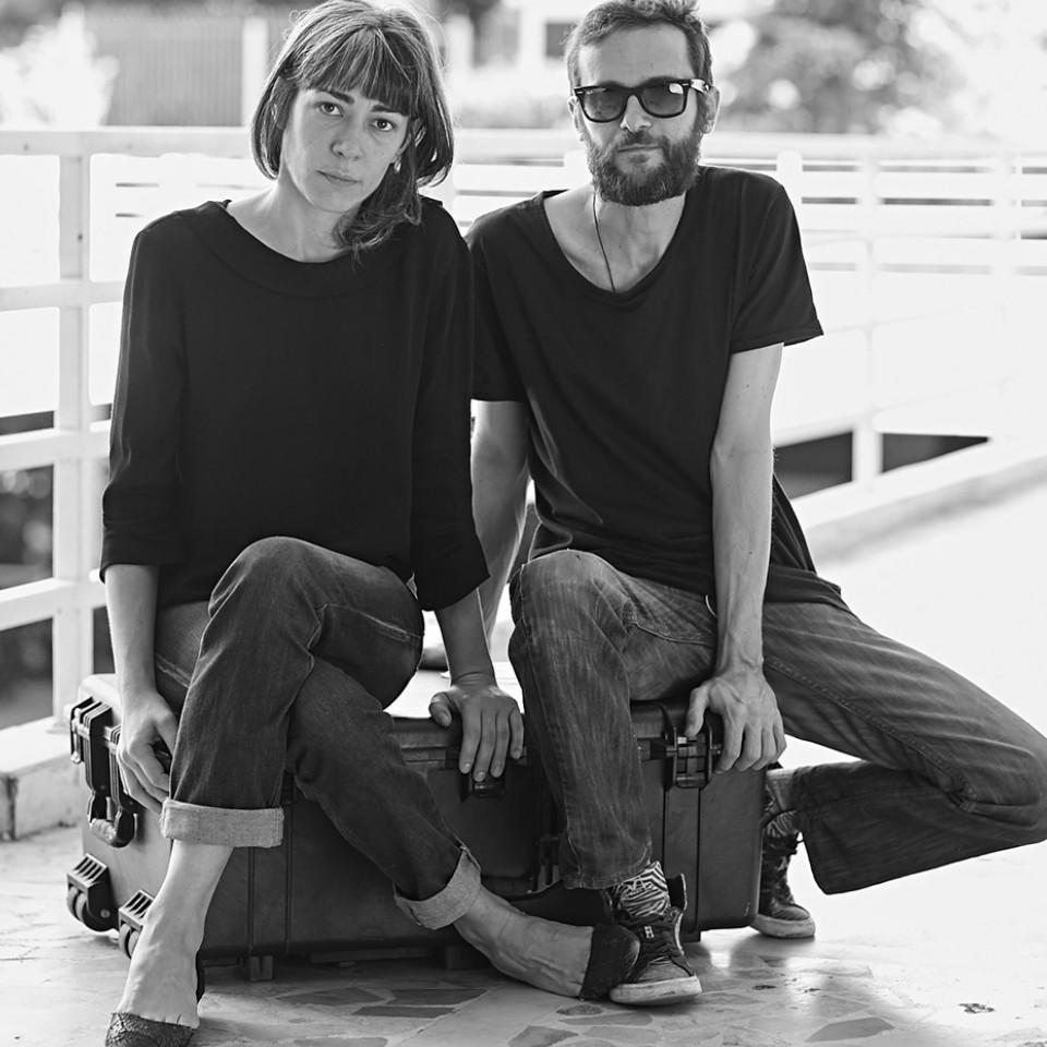 Natacha Barros e Gerfried Gaulhofer, criadores da marca PanoSocial