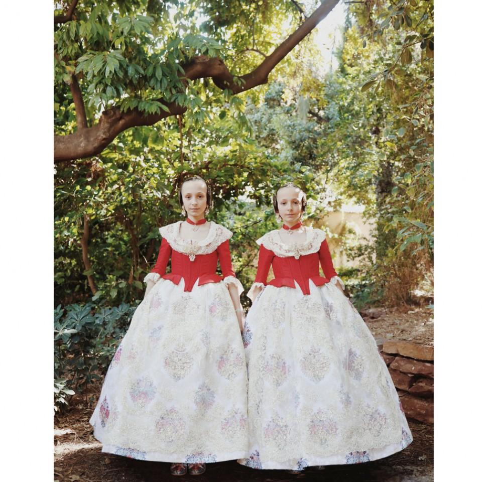 Foto do projeto Falleras, que registra a tradição da gigante festa espanhola