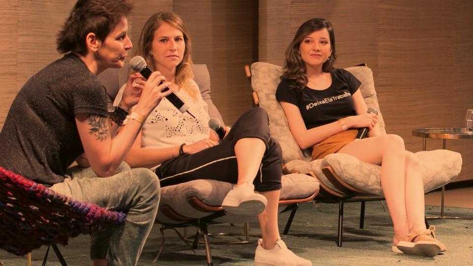 Milly Lacombe, Ale Xavier e Renata de Medeiros