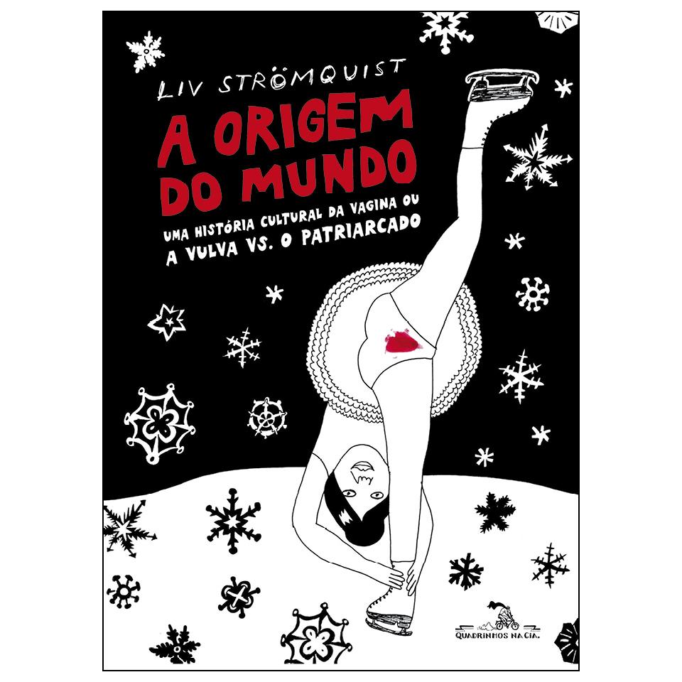 """Capa da HQ """"A origem do mundo"""" que conta a história cultural da vulva"""