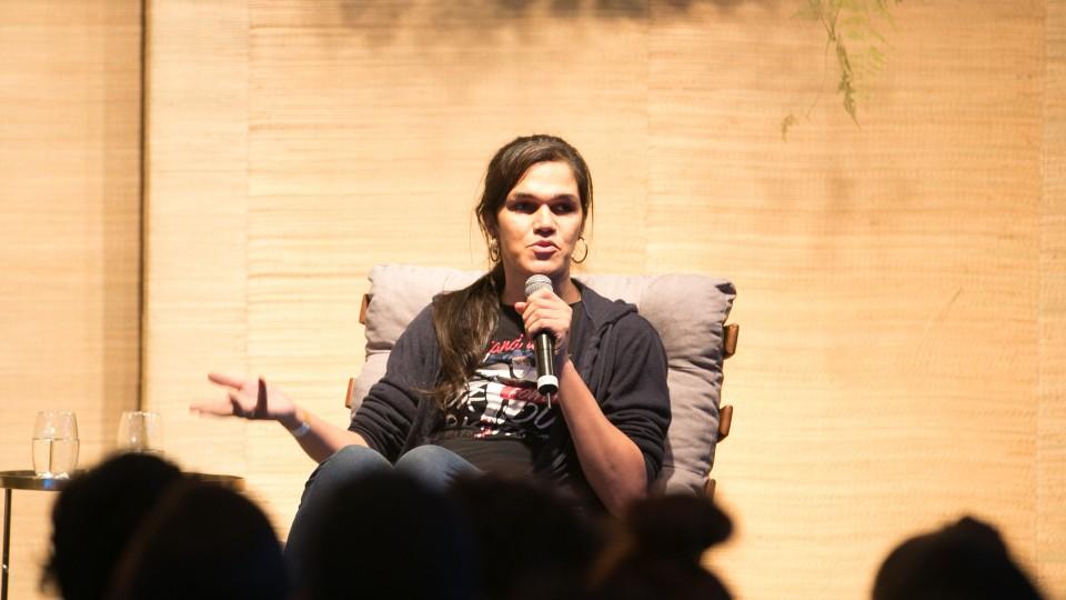 Daniela Andrade, mulher trans e diretora do Grupo de Advogados pela Diversidade Sexual e de Gênero