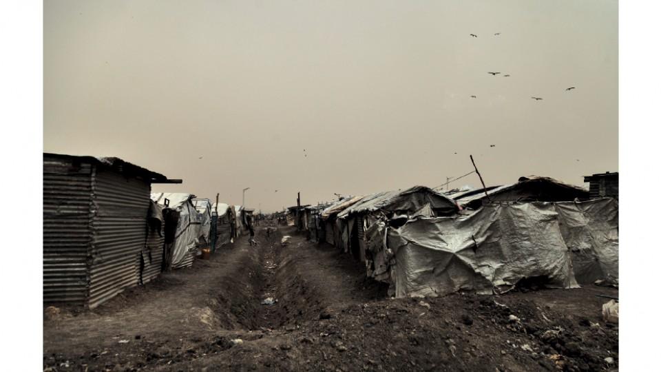 Campo de proteção de civis das Nações Unidas, em Malakal, uma das regiões mais devastadas pelo conflito no Sudão do Sul, em abril do mesmo ano