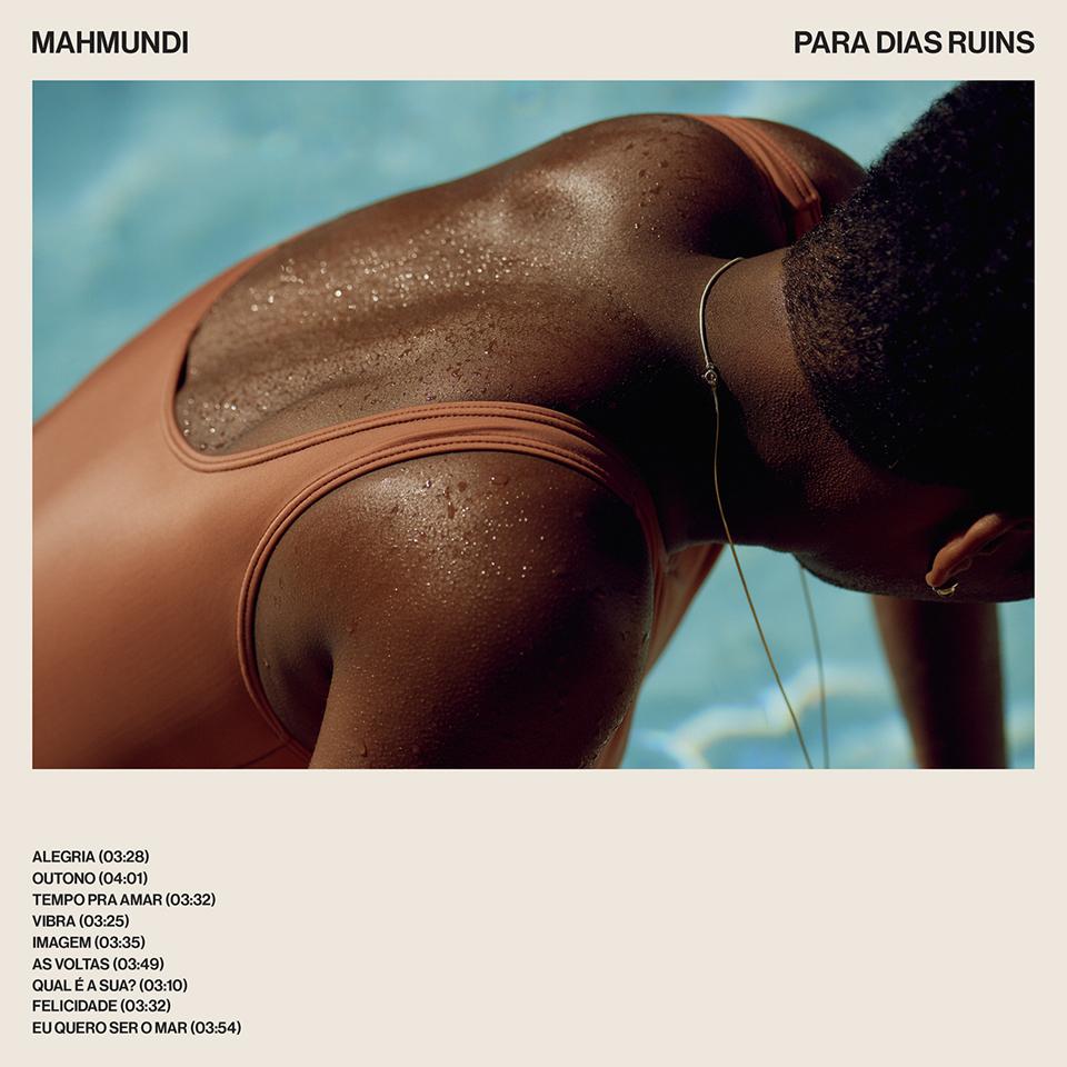 """Capa do disco """"Para dias ruins"""", terceiro trabalho de Mahmundi"""