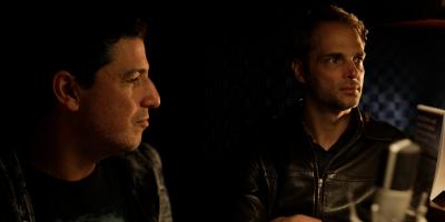 Binho Feffer e Gustavo Steinberg