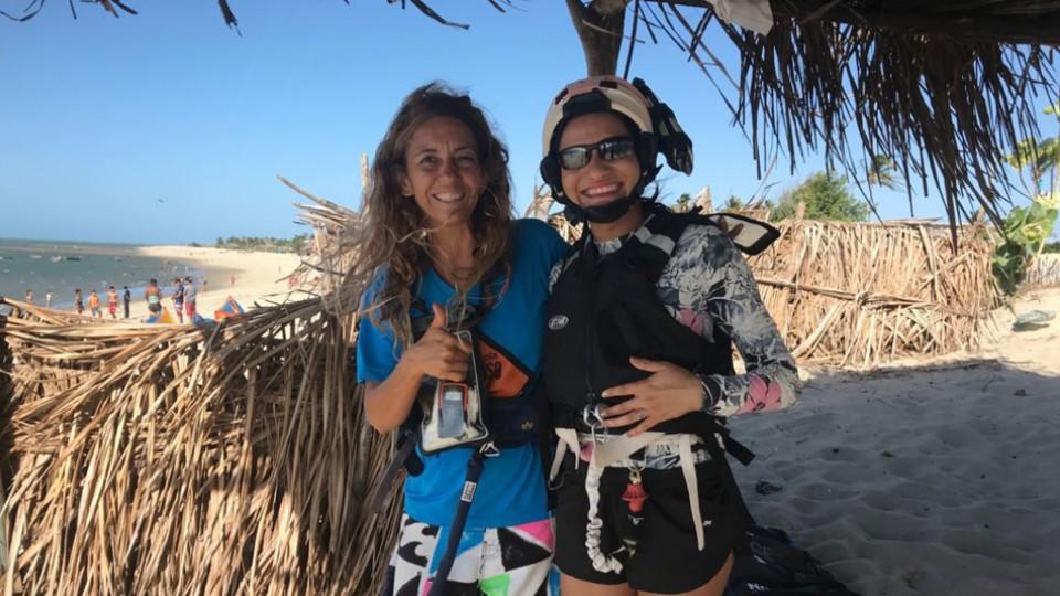 Isabel Lupiañez coordena a ONG Projeto Vivo, que oferece para crianças da região aulas gratuitas do esporte, reforço escolar, entre outras atividades
