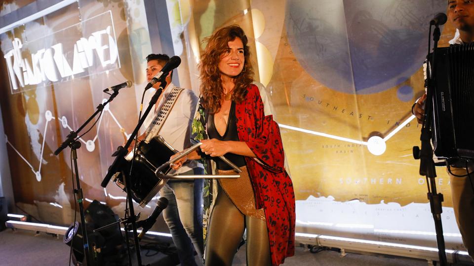 Mariana Aydar tacou fogo na pista para encerrar a edição do Trip Transformadores 2018 na Biblioteca do Parque Villa-Lobos, em São Paulo