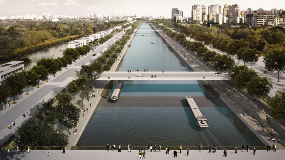 Projeto de hidroanel em São Paulo