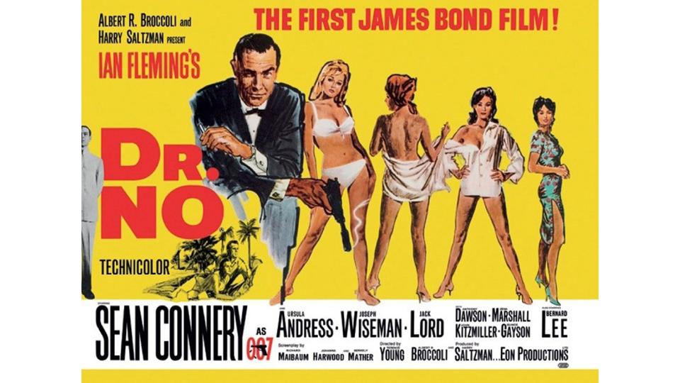 """Indicado pelo escritor Ian Fleming, criador do 007, Chris Blackwell trabalhou como consultor musical para a trilha do longa de estreia do personagem, """"007 contra o satânico Dr. No"""""""