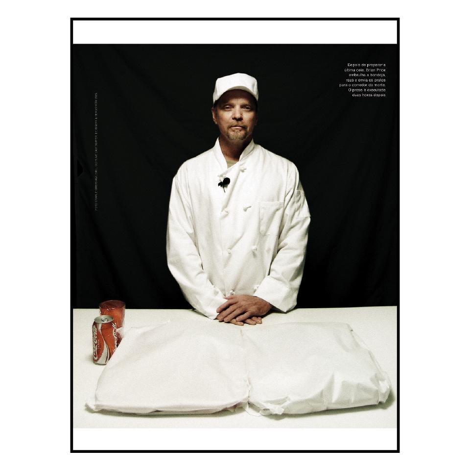 A história do homem que, estando na prisão, tornou-se o cozinheiro da última refeição dos condenados ao corredor da morte