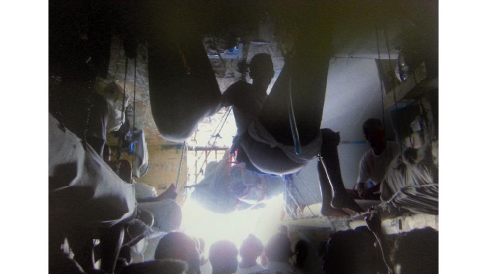 Foto de arquivo pessoal de um presidiário mostra as condições em que vivem os condenados da justiça brasileira