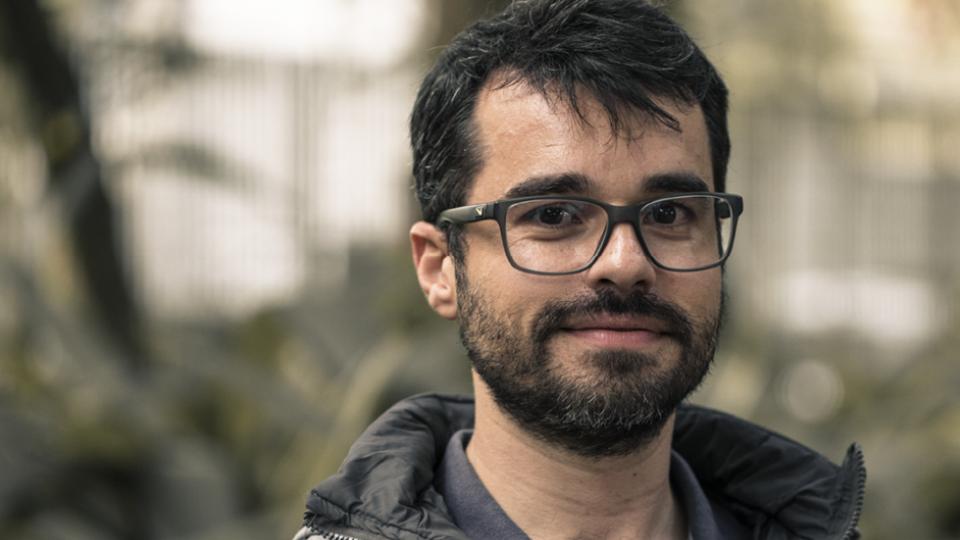 Luiz Covo, parceiro de trabalhos sociais e um dos primeiros a saber do diagnóstico