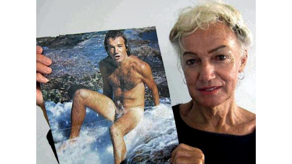 A surfista australiana Westerly Windina, antes e depois da transição.