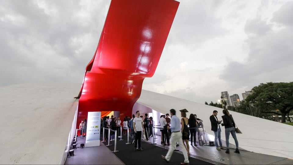 O Auditório Ibirapuera, em São Paulo, palco para a 12ª edição do Trip Transformadores