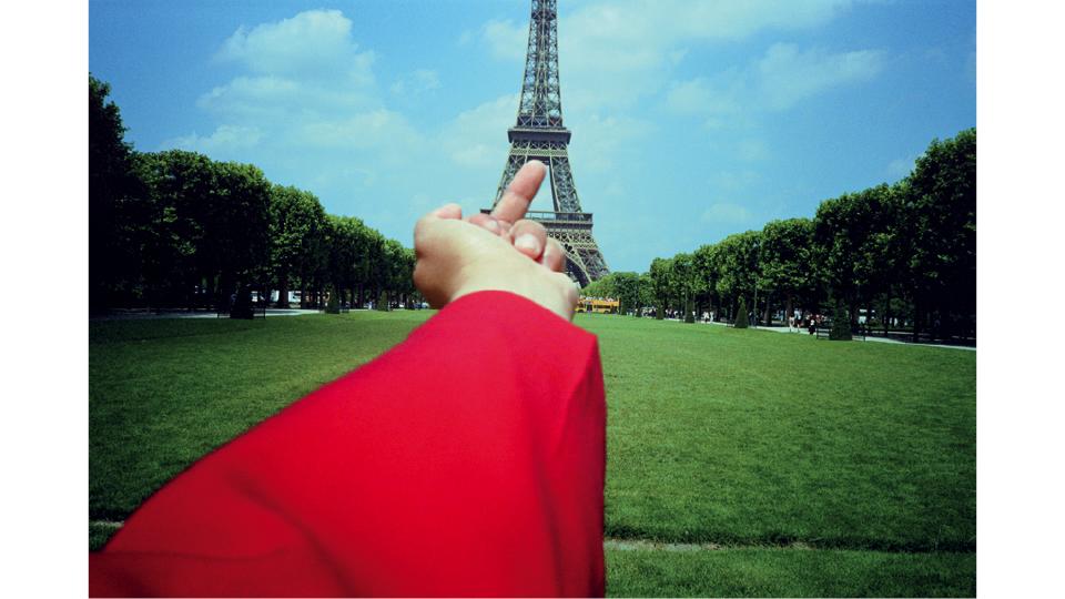 Torre Eiffel, Paris (1999), da série Estudo de Perspectiva (1995-2003)